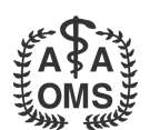 AAOMS b&w logo | Virginia Oral Surgeons | Commonwealth Oral & Facial Surgery