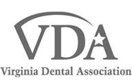 VDA b&w logo | Virginia Oral Surgeons | Commonwealth Oral & Facial Surgery